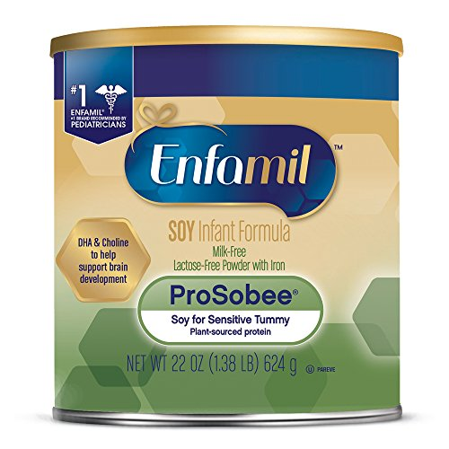 Image of the Enfamil ProSobee Soy-Based Infant Formula - Lactose Free for Sensitive Tummies - Powder Can, 22 oz