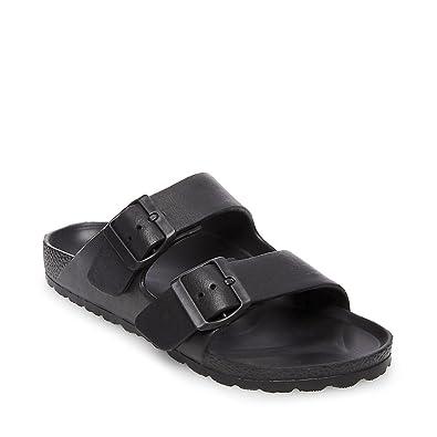 87352e196e2 Steve Madden Women s Bubbles Black Sandal 10.0 US