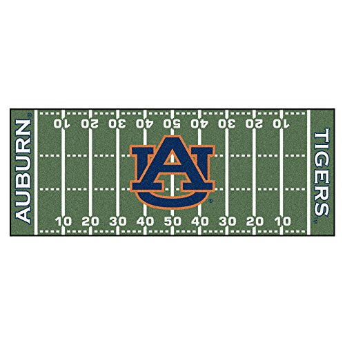 Tigers Runner Football (NCAA Auburn University Tigers Football Field Runner Mat Area Rug)