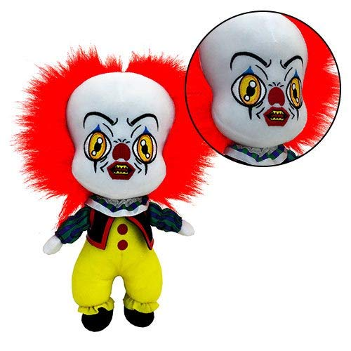 Factory Entertainment - Stephen King - It the Movie - Pennywise The Clown Plush Stuffed Toy Figure- 10 Inch