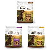Nature's Variety Instinct Grain Free All Natural Oven-Baked Biscuit Dog Treats Variety Pack - 3 Flavors