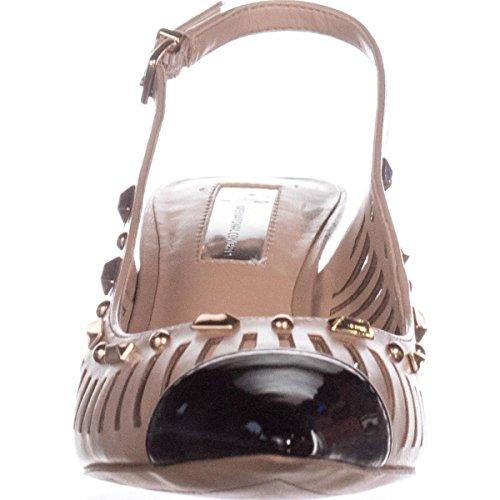 INC Toe Classic Slingback International Concepts Almond Pumps Dark Pointed Womens Dehany OOXrwq