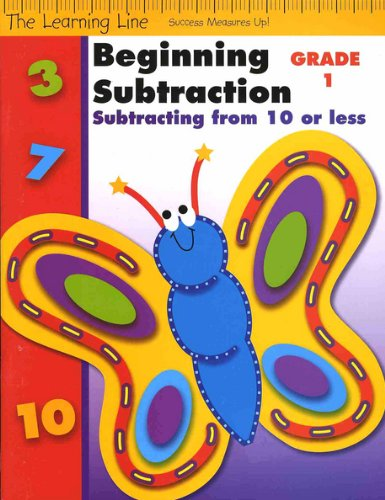 Beginning Subtraction, Subtracting From 10 or Less (The Learning Line)