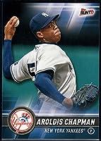 2017 Topps Bunt #117 Aroldis Chapman New York Yankees Baseball Card