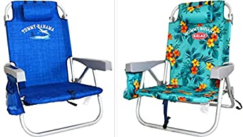 Brilliant 2 Tommy Bahama Backpack Cooler Chair With Storage Pouch And Towel Bar Alphanode Cool Chair Designs And Ideas Alphanodeonline
