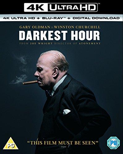 Churchill Clock - Darkest Hour [4K UHD + Blu-Ray] [2017]