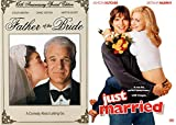 Honeymoon Bride Comedy Collection: Father of the Bride & Just Married Ashton Kutcher Laugh Pack DVD Movie Bundle Feature