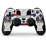 Countries of the World PS4 Controller Skin – Dominican Republic Flag Faded