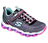 Skechers S Lights-Glimmer Lights Girls' Toddler-Youth Sneaker 3.5 M US Big Kid Black-Multi