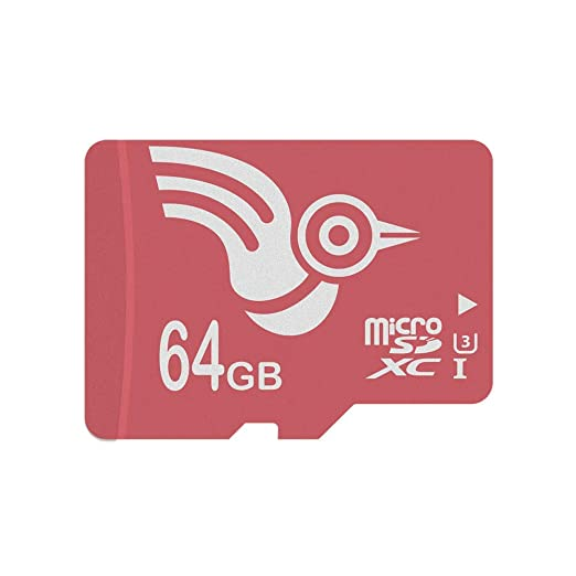 ADROITLARK tarjeta micro sd 64 gb Clase 10 UHS-3 Tarjeta SD Tarjeta memoria para video 4K / teléfonos / computadora portátil / tableta 10 años de ...