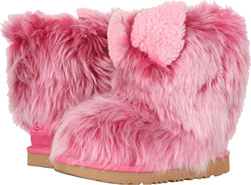 UGG Kids Pinkpuff Classic II Boot, Pink Azalea, Size 5 M US Big Kid