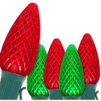 Amazon.com : C9 OptiCore Red & Green LED Commercial Outdoor ...