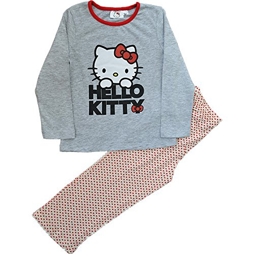 Girls Hello Kitty Pjs Pyjamas Age 3 to 8 Years