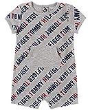 Tommy Hilfiger Baby Boys' Romper, Grey Print, 12M