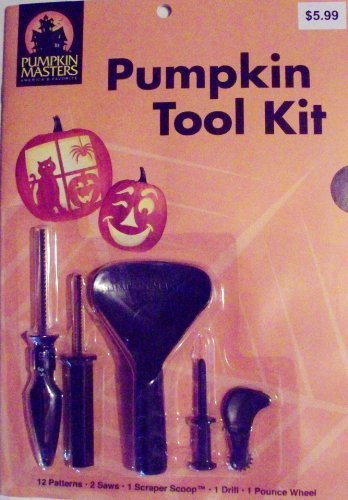 Classic Pumpkin Carving Tool Kit (17 pieces) by