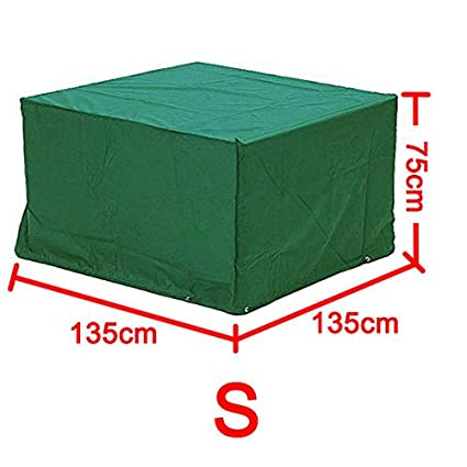 S/M/L/XL Rectangular Waterproof Patio Furniture Cover (S) tinkertonk