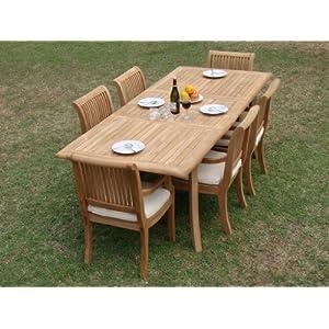 51sXc%2BO5WFL._SS300_ Teak Dining Tables & Teak Dining Sets