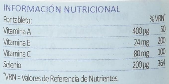 Lamberts Selenio con Vitaminas A, C, E - 100 Tabletas: Amazon.es: Salud y cuidado personal