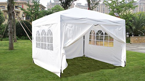 10 215 10 Ez Pop Up Wedding Party Tent Folding Gazebo Camping