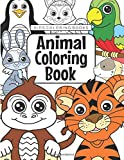 Kids Coloring Books Animal Coloring Book: For Kids Aged 3-8