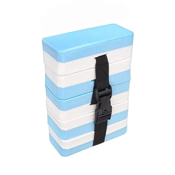 Hilfs Wasserübung Kinder Schwimm Gürtel Schwimmweste Baby Lern Hilfe 5-Pads Blau