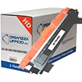 Toner per Brother I-TN1050 XXL Durata 1.500 pagine al 5% di copertura. Compatibile per Brother DCP-1510, DCP-1512, HL-1110, HL-1112, MFC-1810.