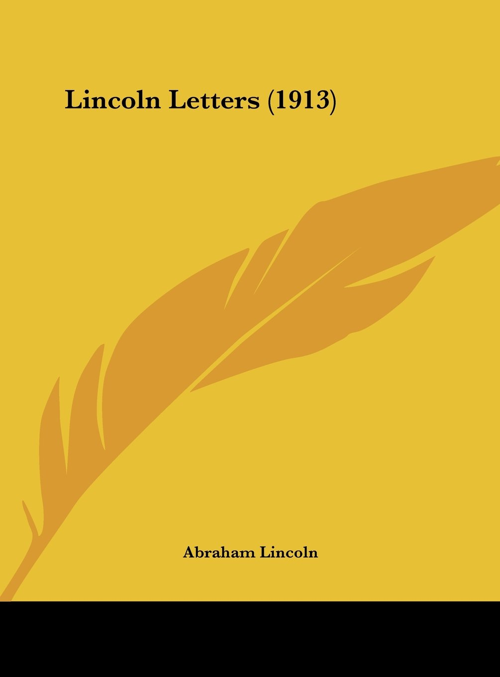 Lincoln Letters (1913) PDF