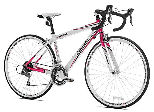 Giordano Libero 1.6 White/Pink Women's Road Bike-700c