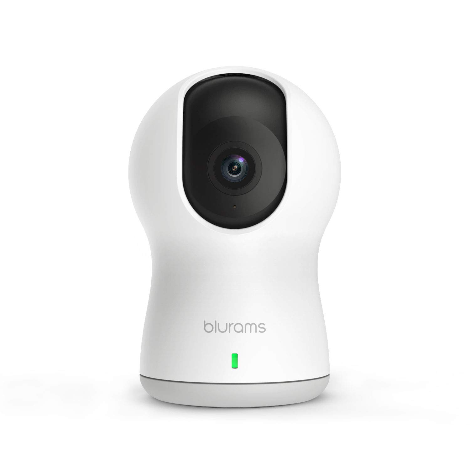 blurams Dome Pro, 1080p Security Camera with Siren | PTZ Surveillance System with Facial Recognition, Human/Sound Detection, Person Alerts, Night Vision | Cloud/Local Available | Works with Alexa by Blurams