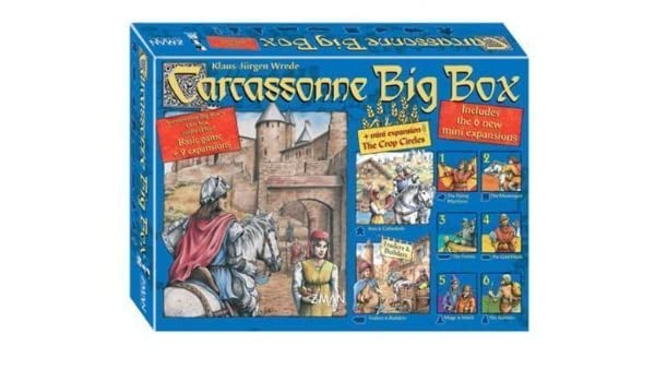 Carcassonne Big Box by Carcassonne Big Box 2012: Amazon.es: Juguetes y juegos