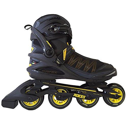 拒否資源エジプトRoces Argon インラインスケート ブレーキ付き メンズ