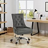 Bagnold Home Office Microfiber Desk Chair, Slate