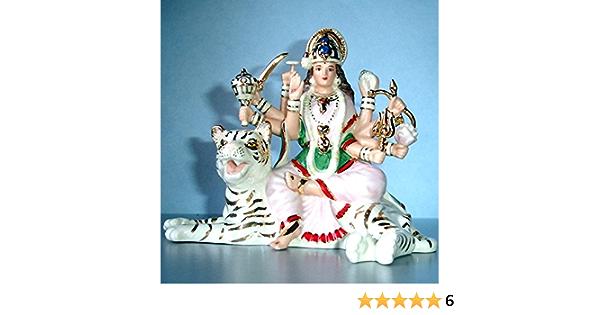 Set of 2 ~ LORD GANESH AND DURGA GODDESS ~ Lenox Hindu Good Luck ~ Both NIB