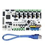 Baoblaze 3D-Printer Motherboard Main Control Board for Rumba Print 3-Head Accessories