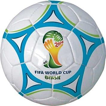 Mondo - Balón de cuero cosido con diseño de Mini Brasil, Nº 3 ...