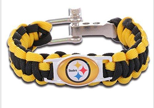 - Pittsburgh Steelers Paracord Bracelet