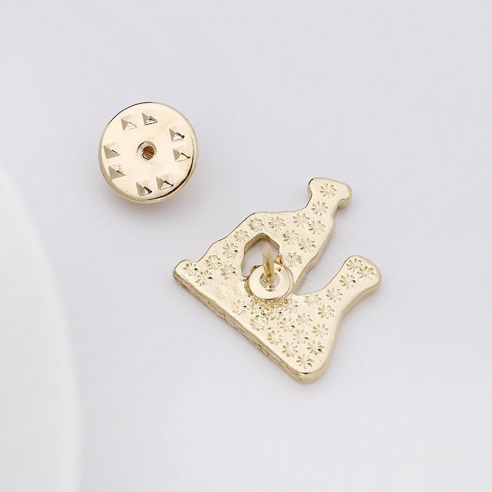 SENFAI Gold Color Microscope Pin and Brooch (20pck) by SENFAI (Image #3)