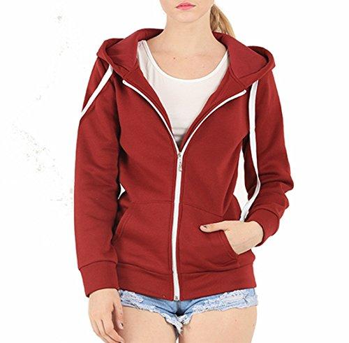 EASYHON Womens Fleece Hoodie Sweater product image