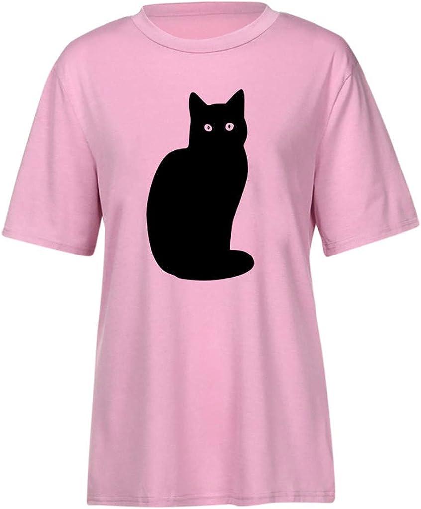 Huellas de Perro Manga Larga de Mujer Imprimir Camiseta Strappy Cold Shoulder Tops Blusas