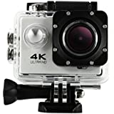 Creazy 2018 Waterproof 4K Wifi HD 1080P Ultra Sports Action Camera DVR Cam Camcorder (Silver)