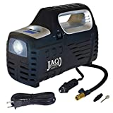 portable air compressor 110v - JACO SmartPro 2.0 AC/DC Digital Tire Inflator Pump - Advanced 12V Portable Air Compressor - 100 PSI