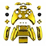 xbox one bumper mods - ModFreakz™ Shell/Button Kit Chrome Collection - Gold For Xbox One Model 1697 Controllers