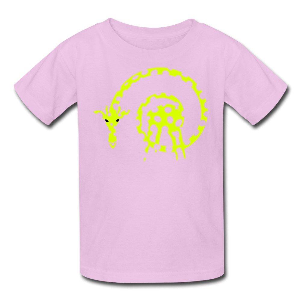 ZIYUAN Kids Cool Spiral Giraffe Legs 2 Colors T-Shirts