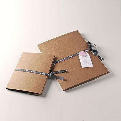 Selfpackaging Carpeta de cartón para Fotos y CDs. Haz Que ...