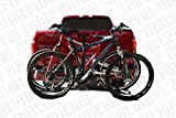 EZ Travel Collection Platform Style Hitch Mounted Adjustable Bike Rack 2 Bicycle Carrier
