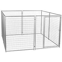 Lucky Dog Modular Welded Wire Kennel - 6' x 10' x10'