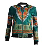 Coolred-Women Long-Sleeve Sexy Zip-Front Outwear College Jacket African AS4 XS