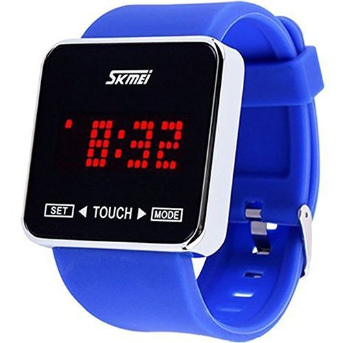 8c56c7637 Fanmis Touch Screen Digital LED Waterproof Sport Casual Wrist Watches Kids  Watch Children Watch Blue: Amazon.ca: Watches