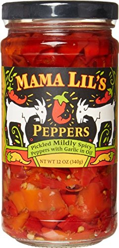 Mama Lils Mild Goathorn Peppers, 12 oz