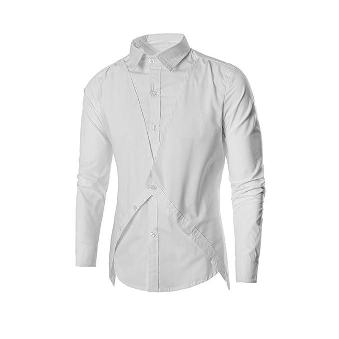Yvelands Liquidación de Camisas para Hombre, Camisas para Hombre Slim Fit Casual Camisetas con Botones Camisetas sin Mangas Vestidos Chalecos Polos: ...
